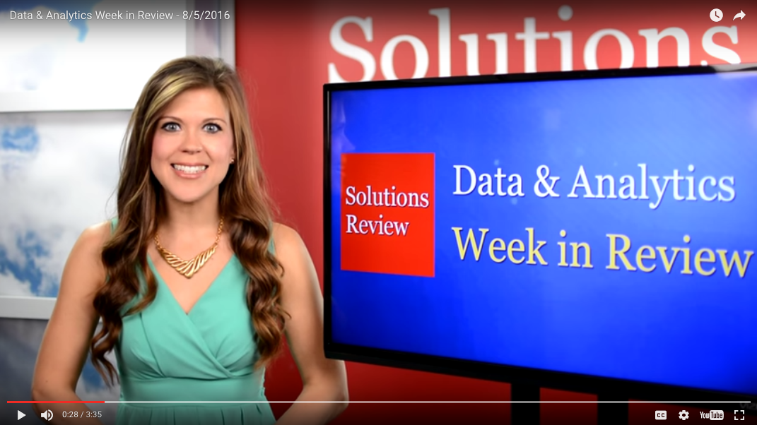 Data Analytics Week in Review